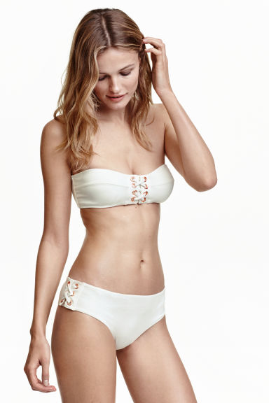 Bikini hipster bottoms - White - Ladies | H&M IE