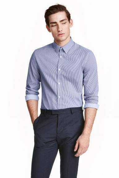 Easy-iron shirt Model