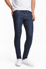 Skinny Low Jeans - Dark denim blue - Men | H&M CN 1