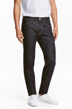 Straight Regular Jeans - Dark denim blue - Men | H&M CN 1