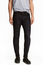 Slim Low Jeans - Black denim -  | H&M 2