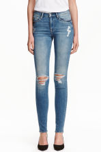 Shaping Skinny Regular Jeans - Blu denim/consumato - DONNA | H&M IT 1