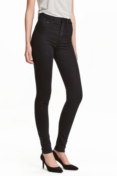 Super Skinny High Jeggings Modell