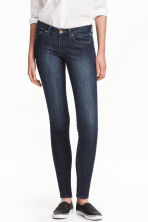 Super Skinny Low Jeans - Dark denim blue - Ladies | H&M 1