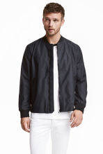 Bomber in misto nylon - Blu scuro - UOMO | H&M IT 1