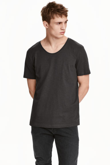 T-shirt - Anthracite grey - Men | H&M CN 1