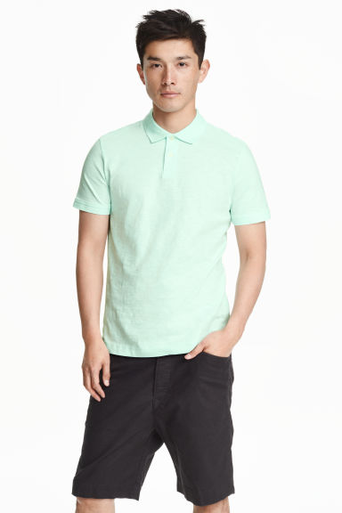 Polo shirt - Mint green - Men | H&M CN 1