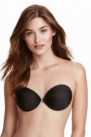 Self-adhesive bra - Black - Ladies | H&M CN 1