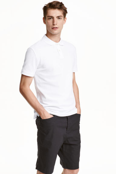 Polo shirt - White - Men | H&M CN 1
