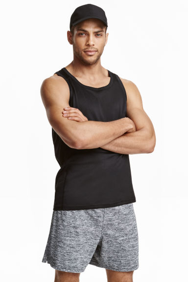 Sports shorts - Dark grey marl - Men | H&M CN 1
