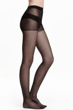 2-pack tights, 20 denier - Black - Ladies | H&M 1