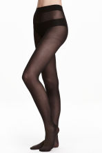 Lot de 2 collants 40d - Noir -  | H&M FR 1