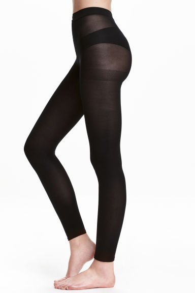 2-pack leggings, 60 den - Black - Ladies | H&M CN