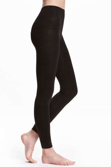 200 denier leggings - Black - Ladies | H&M 1