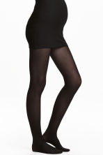 MAMA 2-pack tights 40 denier - Black - Ladies | H&M 1