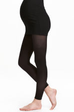 MAMA 60 denier 2-pack leggings - Black - Ladies | H&M CN 1