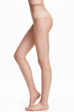 2-pack tights, 20 denier - Light amber - Ladies | H&M IE 1