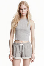 運動短褲 - Grey marl - Ladies | H&M 3