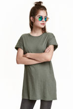 長版T恤 - Khaki green - Ladies | H&M 3