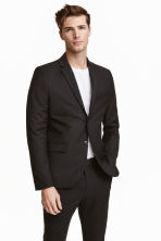 Jacket Slim fit - Black - Men | H&M CA 2