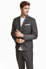 Blazer - Slim fit - Donkergrijs -  | H&M BE 2
