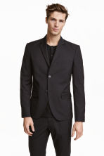 Jacket Regular fit - Black - Men | H&M 3