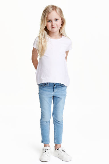 Slim Jeans - Light denim blue - Kids | H&M CN 1