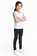 Superstretch denim leggings - Black - Kids | H&M 1