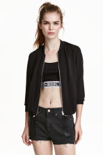 Bomber - Nero/argentato -  | H&M IT 1