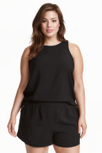 H&M+ Sleeveless top - Black - Ladies | H&M CN 1