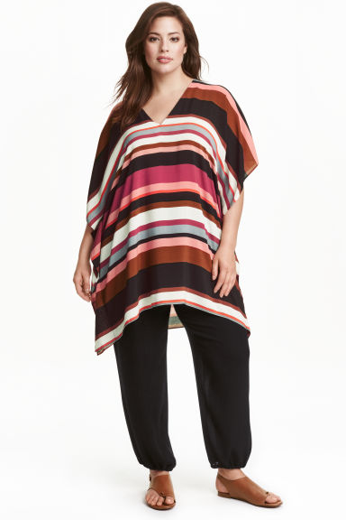 H&M+ Tunic - Multistriped - Ladies | H&M CN 1