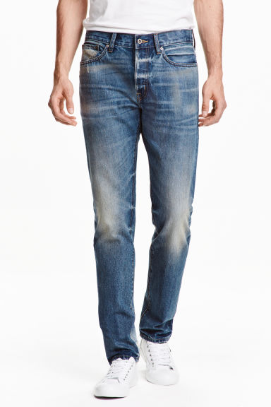 Straight Regular Jeans - Bleu denim -  | H&M FR 1