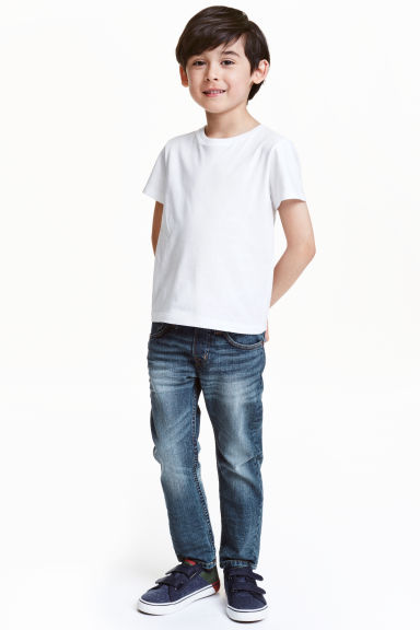 Slim Pull On Jeans - Denim blue - Kids | H&M CN 1