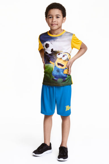 Ensemble de football - Bleu/Minions - ENFANT | H&M FR