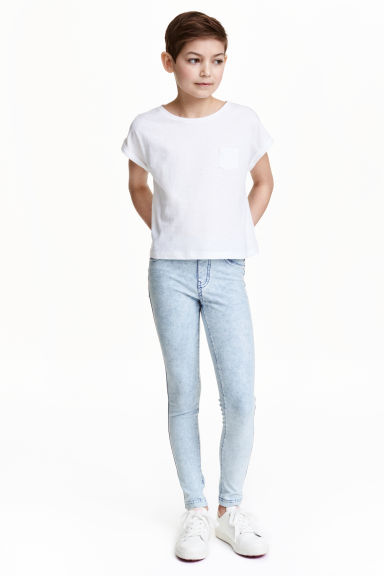 Treggings - Pale denim blue - Kids | H&M CN 1