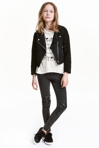 Treggings - Nearly black - Kids | H&M CN