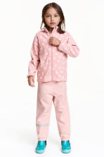 Shell pants - Light pink - Kids | H&M CN 1