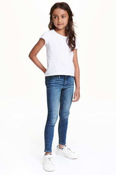 Superstretch Skinny Fit Jeans - Denim blue - Kids | H&M CN 1