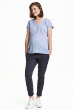 MAMA Chinos - Dark blue - Ladies | H&M 2
