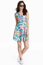 Sleeveless dress - Pink/Floral - Ladies | H&M CN 1