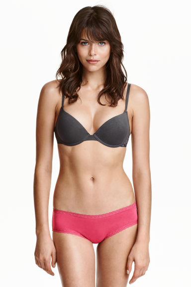 4-pack hipster briefs - Burgundy - Ladies | H&M CN 1