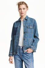Denim jacket - Denim blue -  | H&M CN 1
