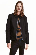 Canvas jacket - Black - Men | H&M CN 1