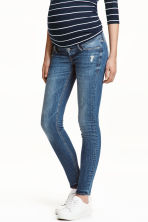 MAMA Skinny Jeans - Dark denim blue - Ladies | H&M IE 1