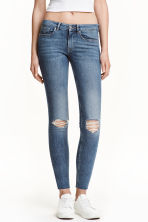 Super Skinny Ankle Jeans - Denim blue - Ladies | H&M GB 1