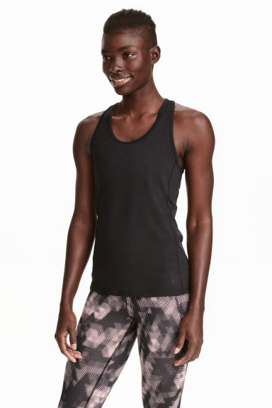 Top sportivo - Nero - DONNA | H&M IT 1