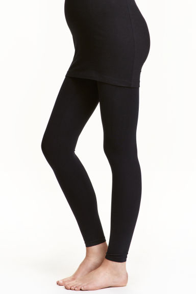 MAMA 200 denier leggings - Black - Ladies | H&M