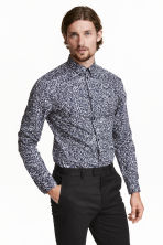 Shirt in premium cotton - null - Men | H&M CN 1