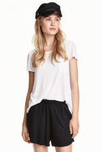 Wide shorts - Black - Ladies | H&M 2