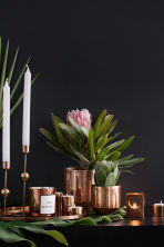 Scented candle in glass holder - Copper/Patchouli - Home All | H&M IE 1